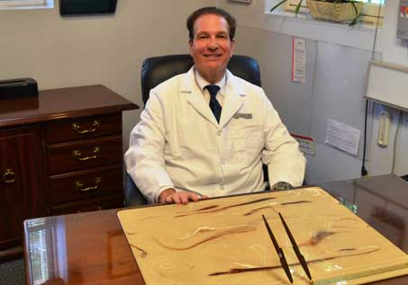 Dr. Samuel Taller at office - Riverdale Dentist | Dr. Taller Dental Family Practice in Bronx, NY